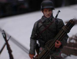 Figurka w skali 1/6 tzw. Action Man