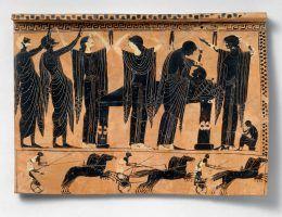 Lament był ważnym etapem żałoby w starożytnej Grecji