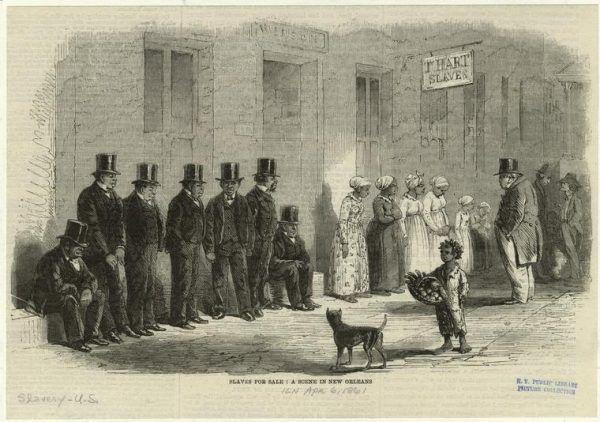 Czarni niewolnicy na sprzedaż, Nowy Orlean