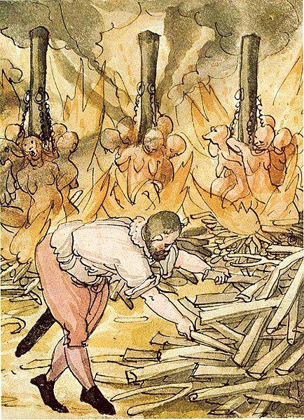 Masowa egzekucja na stosie