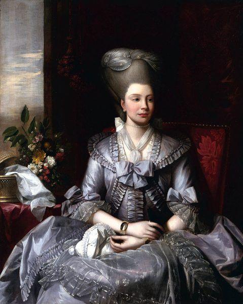 Charlotta utrzymywała bliskie stosunki z Marią Antoniną, nigdy jednak nie spotkały się osobiście.