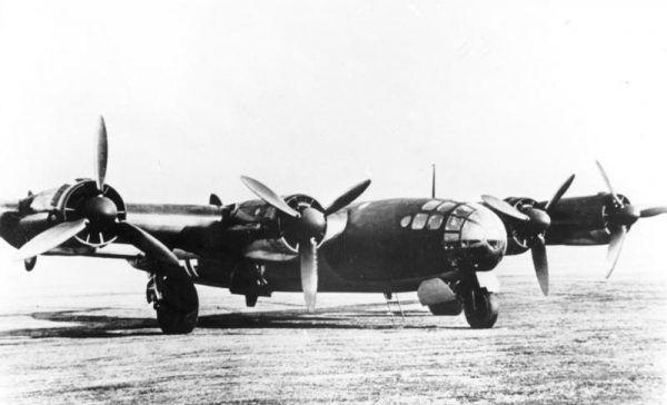 Superbombowiec Me 264 miał mieć zasięg 20 tys. km i udźwig 5 ton