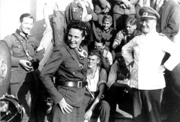 Zbrodniarze hitlerowscy finansowali jej działalność artystyczną w III Rzeszy