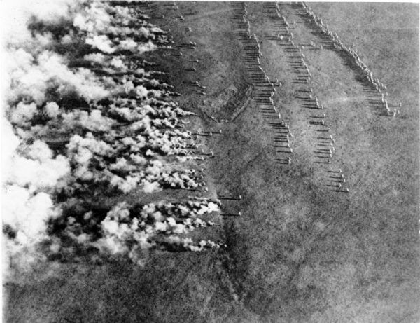 Atak gazem na froncie wschodnim