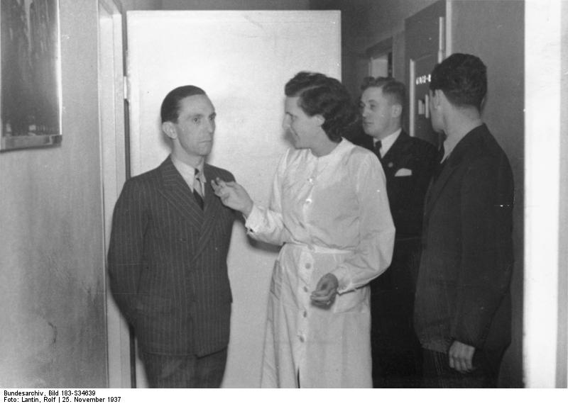 Z Josephem Goebbelsem w 1937