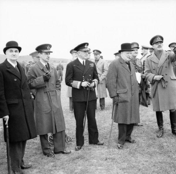 Frederick Lindemann i Winston Churchil, 1941 rok