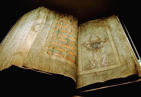 Codex Gigas jest największym na świecie średniowiecznym manuskryptem