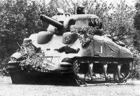 Atrapa czołgu Sherman