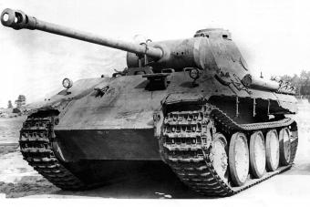Guderian był ojcem niemieckich wojsk pancernych. Zdjęcie poglądowe.