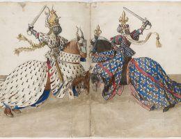 Turnieje rycerskie były zjawiskiem charakterystycznym dla epoki średniowiecza