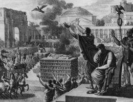 Pogrzeb Cezara