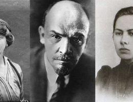 Miłosny trójkąt Lenina, od lewej: Inessa Armand, Włodzimierz Iljicz Lenin, Nadieżda Krupska