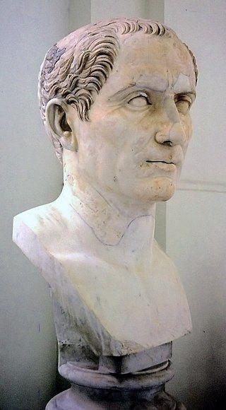 Juliusz Cezar – popiersie z kolekcji Farnese, w Museo Archeologico Nazionale w Neapolu