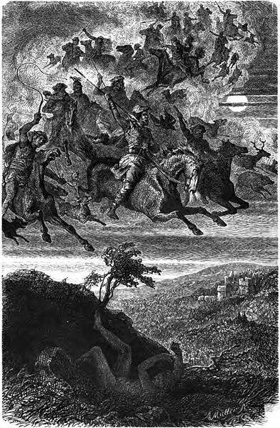 Friedrich Wilhelm Heine: Wodan's wilde Jagd (1882)