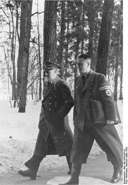 Hitler i Speer jako minister uzbrojenia i amunicji (1942)