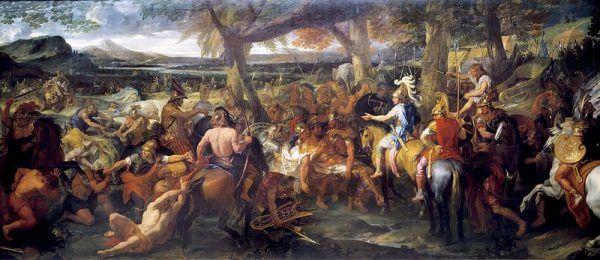 Zdaniem wielu historyków bitwa nad rzeką Hydaspesta była największym wyczynem militarnym Aleksandra