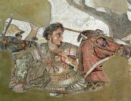 Aleksander Macedoński uznawany jest za jednego z najwybitniejszych wodzów w historii