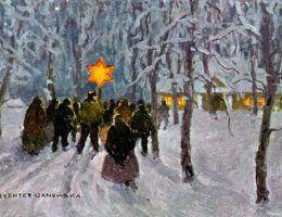 W ziemiańskich dworkach kultywowano wiele świątecznych tradycji