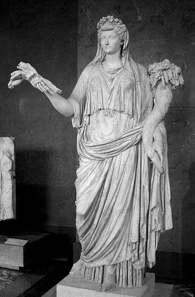 Liwia Druzylla była jedną z pierwszych kobiet Rzymu, których pomniki wystawiono na widok publiczny