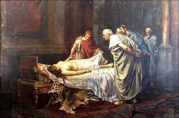 Neron rozkazał zamordować swoją matkę