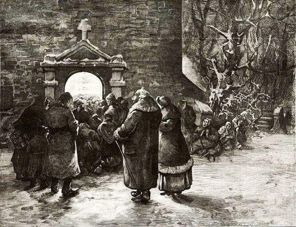 Pasterka w XIX wieku