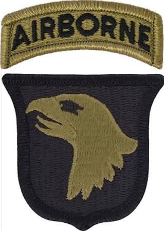 Odznaka 101 Dywizji Powietrznodesantowej