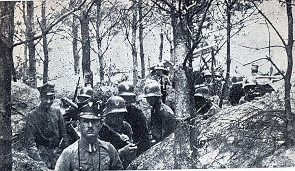 Powstańcy wielkopolscy, styczeń 1919
