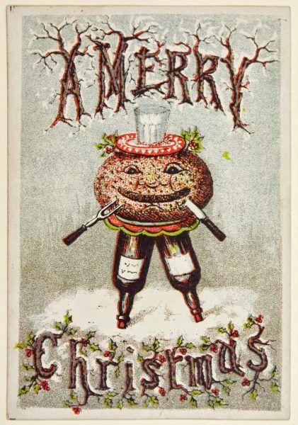 Odrobina przemocy na świątecznej kartce