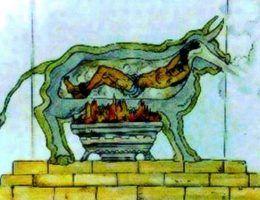Spiżowy byk to jedno z najstarszych znanych narzędzi kaźni