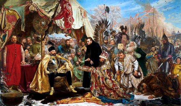 Stefan Batory pod Pskowem