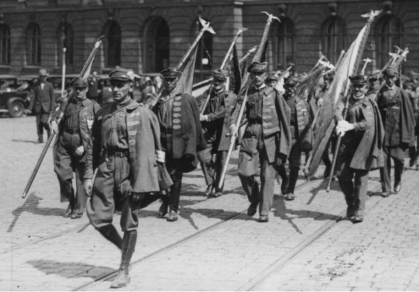 """Towarzystwo Gimnastyczne """"Sokół"""" zostało założone w Poznaniu w roku 1886 (zdjęcie z 1932 roku)"""