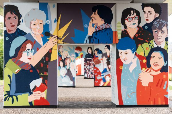 Mural Kobiety Solidarności