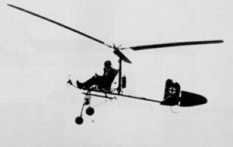 Wiatroszybowiec był jednym z dziwniejszych wynalazków w czasie II wojny