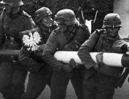 niemieccy zolnierze przesuwaja szlaban na polskiej granicy
