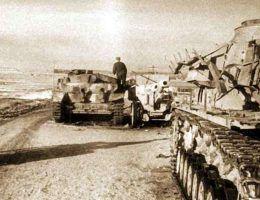 Ofensywa styczniowa zmusiła Niemców do odwrotu. Zdjęcie poglądowe