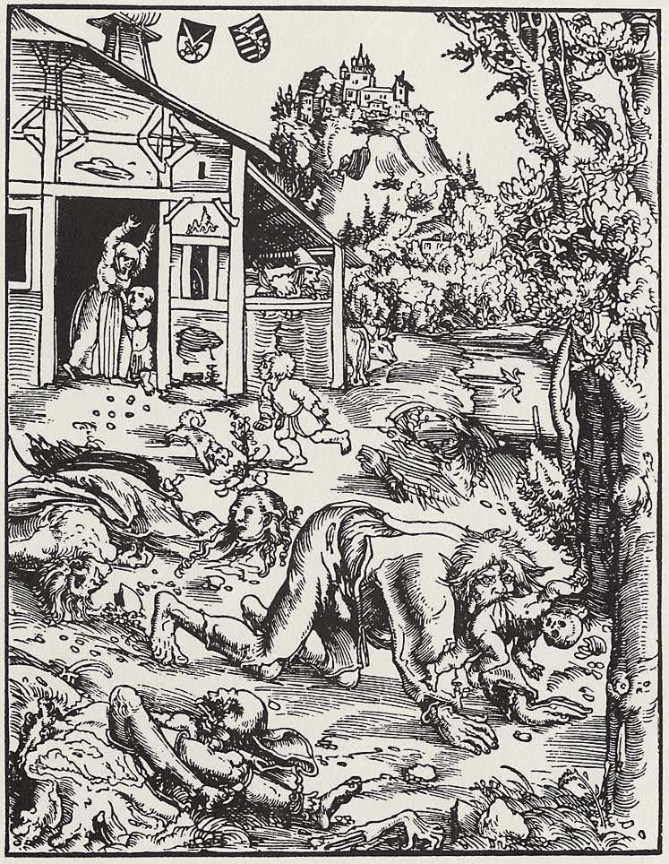 Wilkołak, Lucas Cranach Starszy, 1512