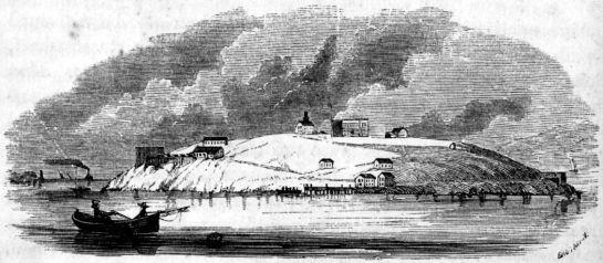 Alcatraz w XIX wieku
