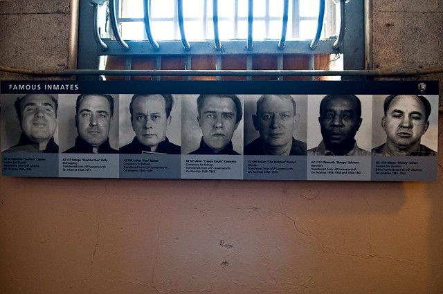 Słynni więźniowie Alcatraz