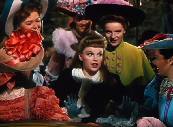 Judy Garland w trailerze filmu Meet Me in St Louis