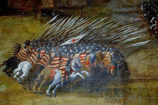 Husaria w bitwie pod Kłuszynem