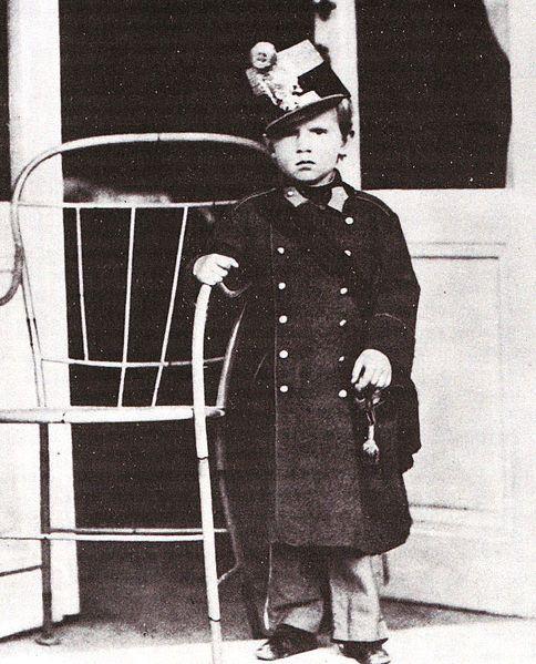 Młody Rudolf Habsburg