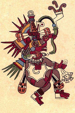 Quetzalcoatl uważany był za współtwórcę świata