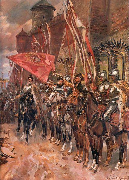 Husaria to najsłynniejsza polska formacja zbrojna
