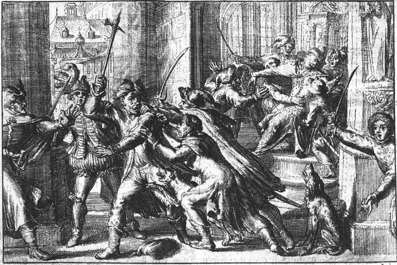 Podobno to anioł kazał zamordować Zygmunta III Wazę