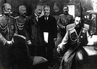 Abdykacja Mikołaja II