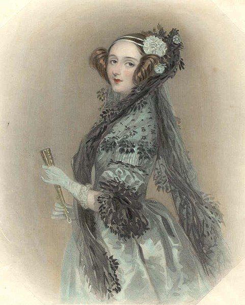 Ada Lovelace bywa uważana za pierwszą programistkę
