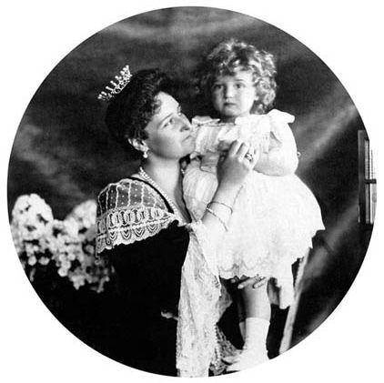 Caryca Aleksandra z synem, 1906