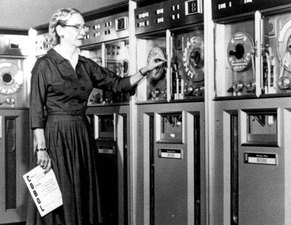 Grace Hopper w 1952 roku
