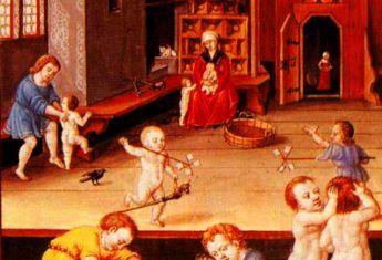W średniowieczu kwestia wyboru imienia dla dziecka nie zajmowała rodzicom wiele czasu...
