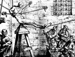 Katalog średniowiecznych tortur był bardzo bogaty. Jednak to, co przytrafiło się Henrykowi V naprawdę pozostawia współczesnych w osłupieniu